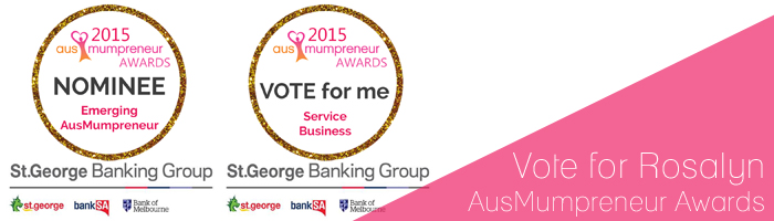 Ausmumpreneur Award Nomination