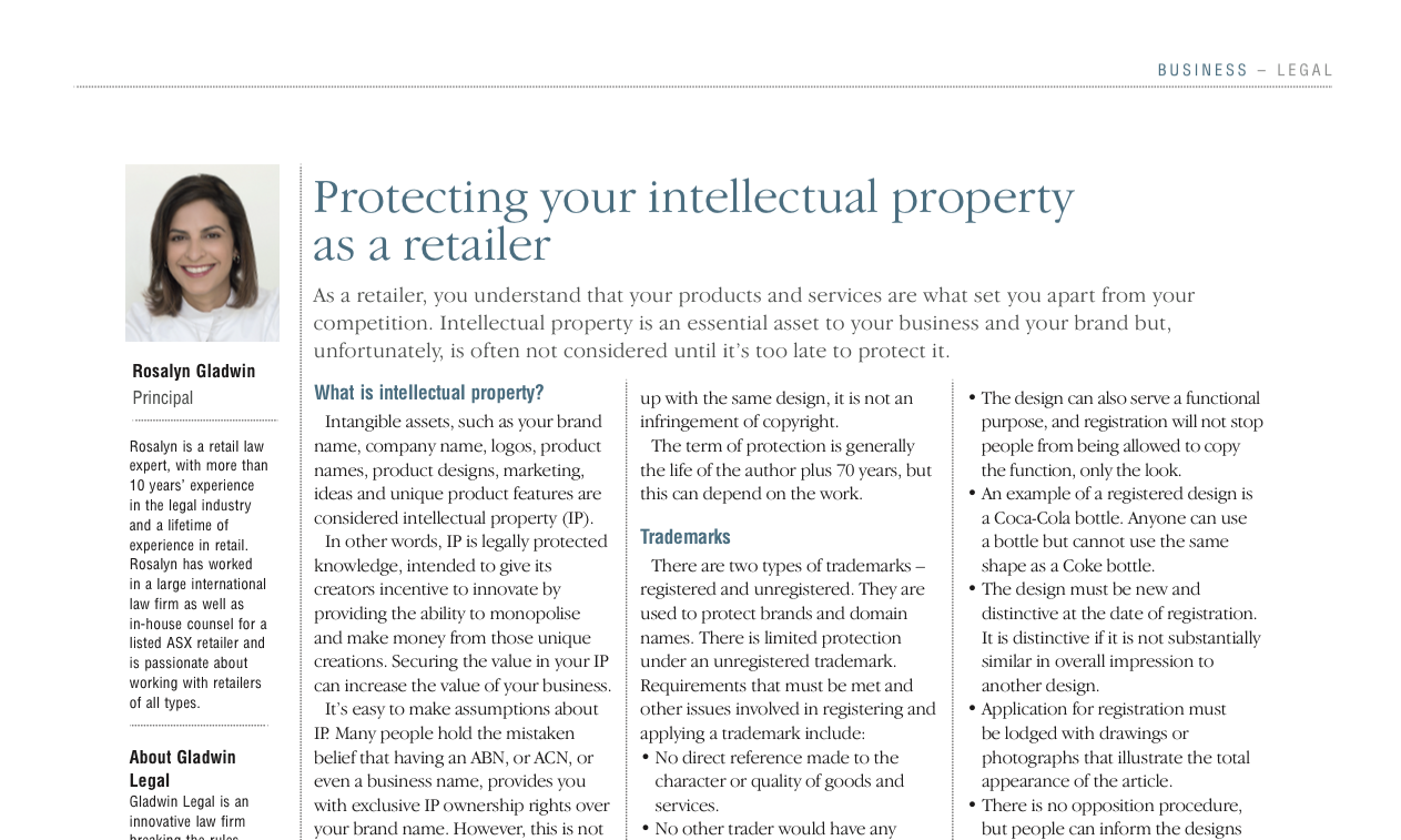 Protecting Your Intellectual Property as a Retailer