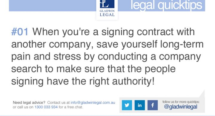 QuickTip: Conduct a Company Search