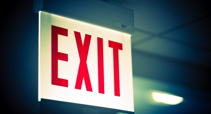 Plan your exit strategy early
