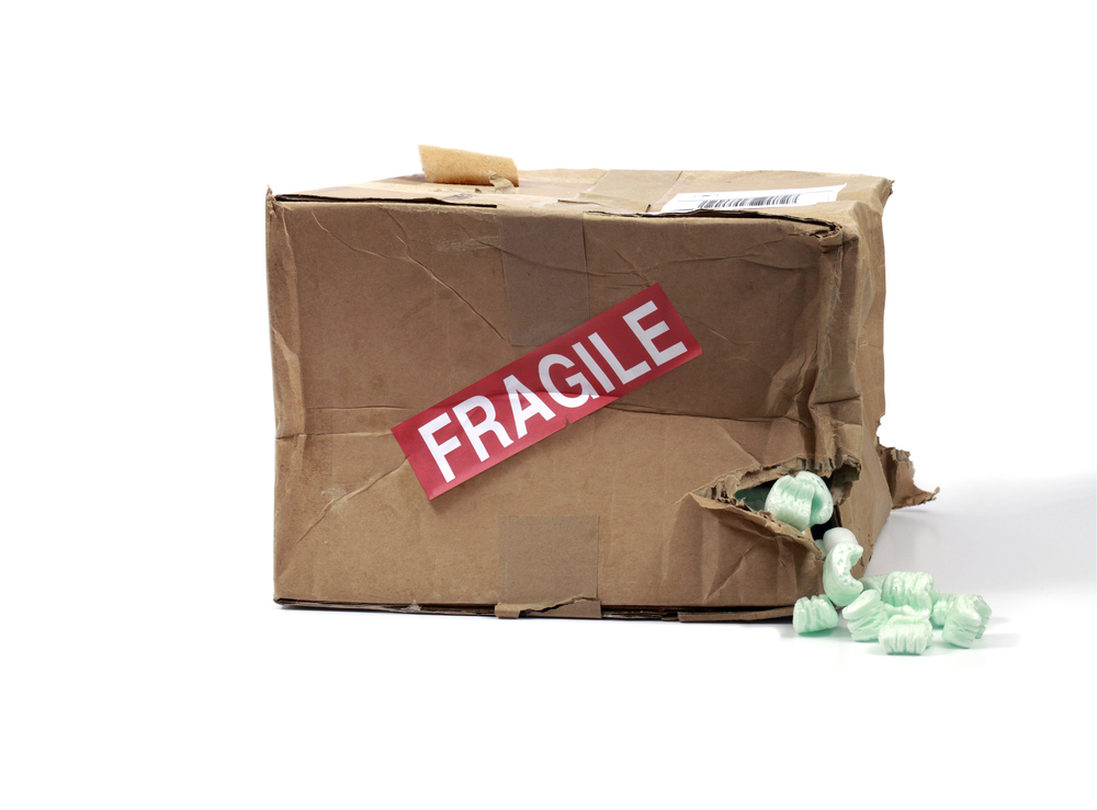 2 ways that packages get destroyed in delivery