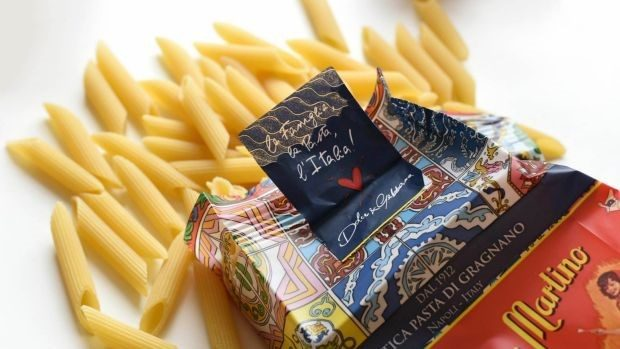 Designer pasta? Dolce and Gabbana producing limited edition pasta