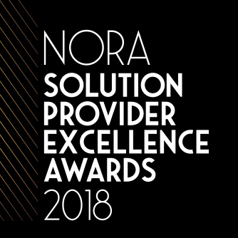NORA Solution Provider Excellence Awards 2018 logo