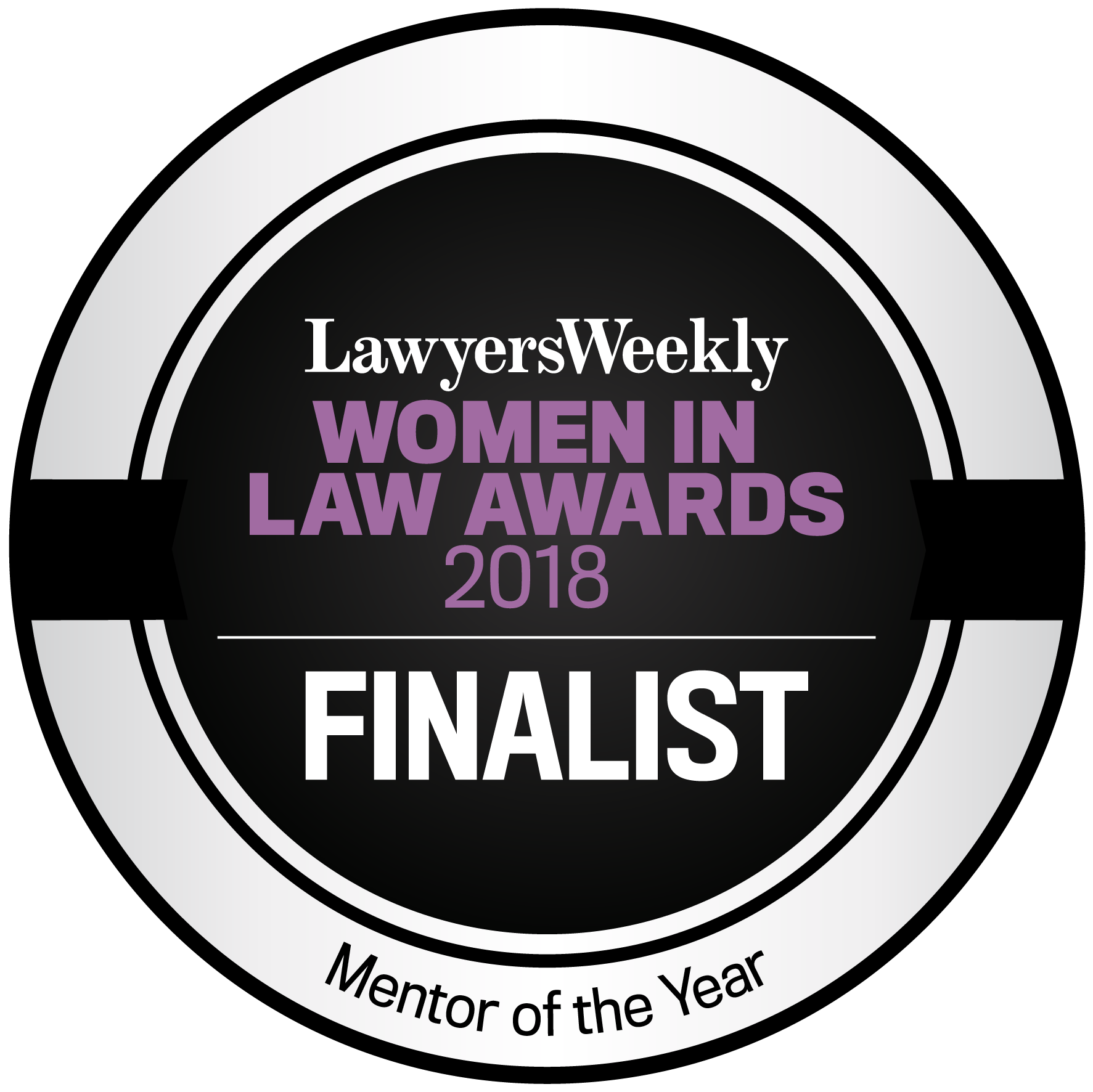 Lawyers Weekly Women in Law Awards 2018 - Mentor of the Year