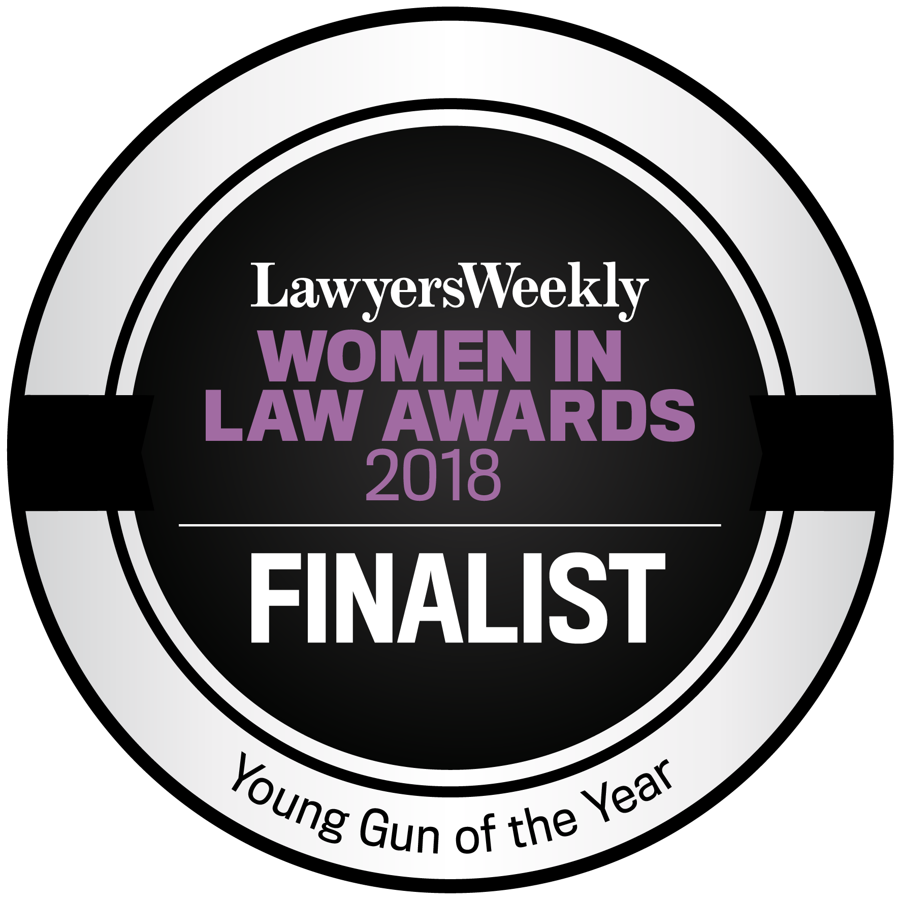 Lawyers Weekly Women in Law Awards 2018 - Young Gun of the Year