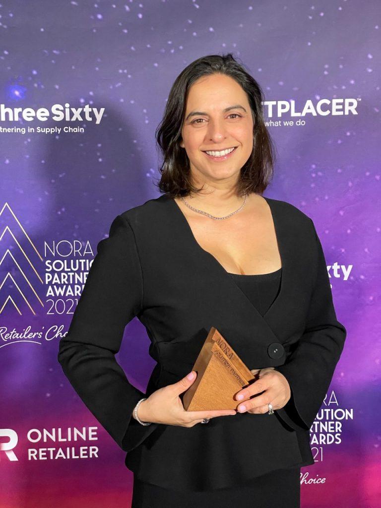 Rosalyn at Nora Awards